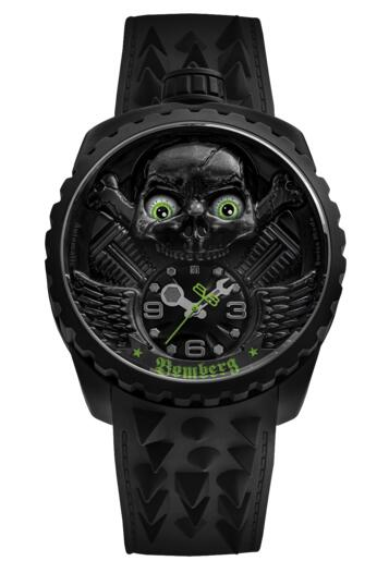 Bomberg Bolt-68 SKULL RIDER BS47APBA.056-1.3 LIMITED EDITION REPLICA